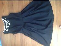 Ladies black Dorothy Perkins size 12 dress