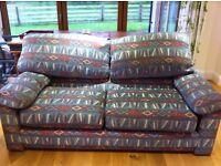 Sofa and chair kilim pattern