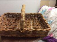 Beautiful large handmade basket