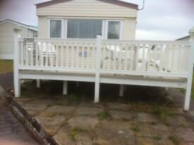 4bedroom caravan to let in trecco bay porthcawl