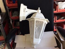 New outside latern