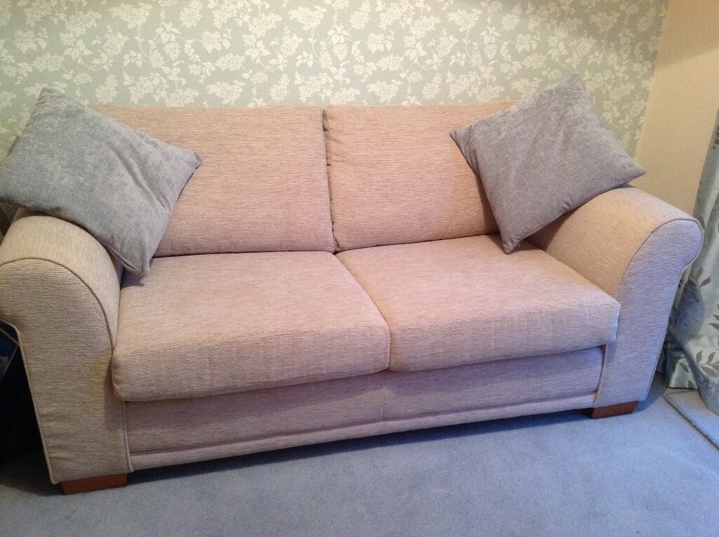 Sofa bed from Nextin Liverpool, MerseysideGumtree - Sofa bed purchased from Next. Only 3 years old and hardly used. Purchase price as new was £790. Still has fire safety tags. Extremely comfortable and impressive looking sofa and also very comfortable when opened out into a small double bed. Covered...