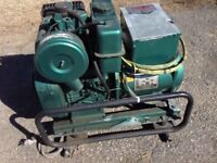 Lombardini diesel generator WANTED for parts.