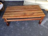 Coffee table, TV cabinet and small cabinet NOW REDUCED £70