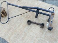 For Sale - Motorcycle Carrier / Rack - fits car tow bar - quickly detaches - good condition !