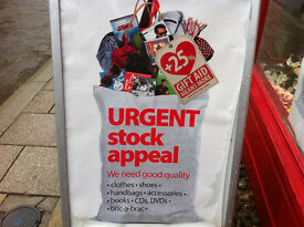 URGENT STOCK APPEAL