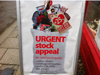 URGENT STOCK APPEAL