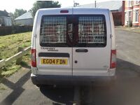 SWB Silver Ford Transit Connect