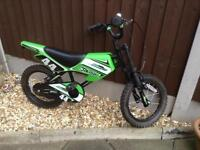 Motto bike 12 inch wheels halfords at 130 new sale £40 very good condition