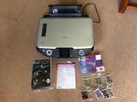 Epson stylus photo rx585 printer/copier with ink cartridges (sold separately)
