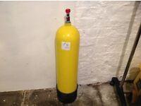 Dive cylinder 10 litre
