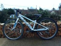 """A Carrera Bicycle 24 """" inch wheel - suite 9-10 yr old"""
