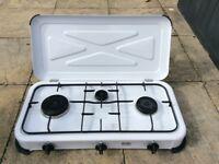 ONJ 3 burner camping cooker/ ideal for camper van conversion