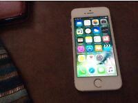 Unlocked iPhone 5s 16Gb white Good condition