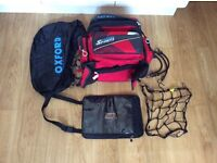 Oxford motorcycle luggage and cargo tank bag