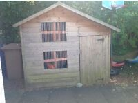 Children's wooden garden playhouse for sale - Paisley