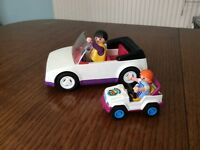 Playmobil summer car and mini car