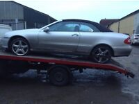 Mercedes Clk w209 240 -320 all parts available