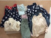 Bundle - girls clothes 12-18 months