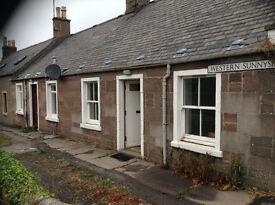 2 Western Sunnyside, Forfar, Angus DD8 1ED Lovely 1 bedroom end terraced cottage, newly refurbished.