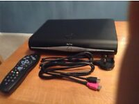 SKY+HD 500gb box with in built wifi for on demand and box sets