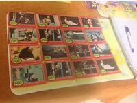 Star Wars 1977 cards