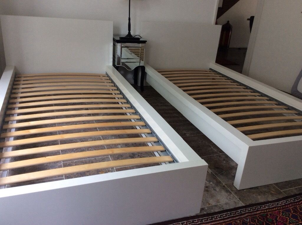 Ikea Malm Single Bed Frame Price Reduced In