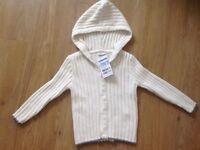 New Jojomamanbebe unisex knit jumper 3-4 years old