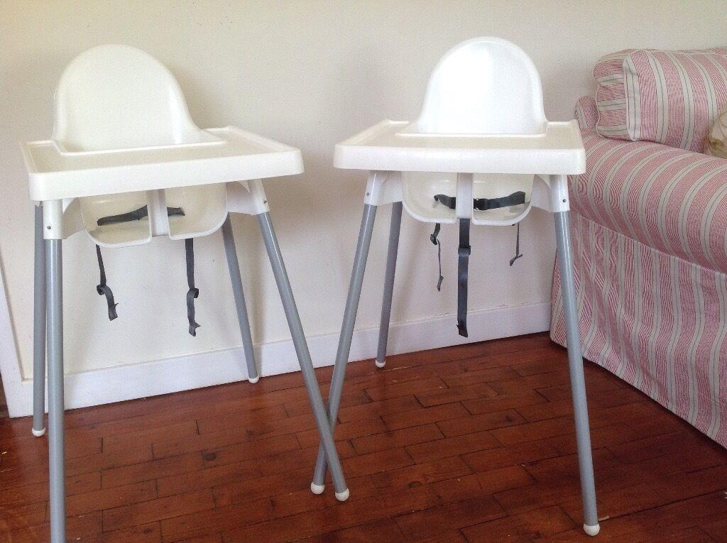 2 x ikea antilop highchairs twins in brackley. Black Bedroom Furniture Sets. Home Design Ideas