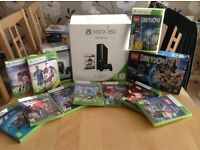 Xbox 360 console with 2 controller, Docking Station & 10 games including Minecraft and FIFA 16