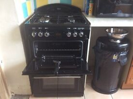 Leisure range master double oven and 4 ring hob