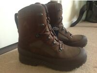 Haix - Brown Desert Combat High Boot - UK 12 - Offers