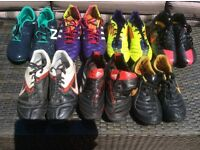 7 Pairs of Football Boots for Sale in Good Condition £50 for the lot