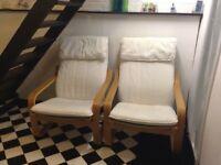 Ikea Easy Chairs