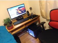 Full Gaming PC Setup: Includes 5.1 Surround sound & Studio mic -LAPTOP SWAPS WELCOME