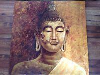 Canvas 70cmx70cm Buddha