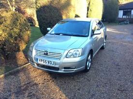 Toyota avensis one owner from new
