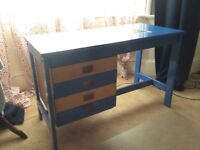 Vintage 1960s refurbished office desk