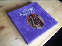 Jimi Hendrix Experience 8 LP Vinyl Limited Edition 180 gram Deluxe Box Set - Rare and Collectable