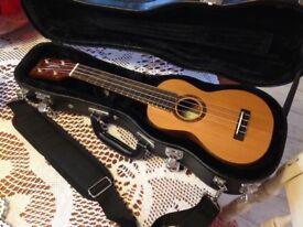 Uluru Kohala soprano ukulele all solid wood!