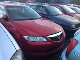 2005 MAZDA 6 TS 2 1.9 DIESEL BREAKING FOR PARTS ONLY POSTAGE AVAILABLE NATIONWIDE
