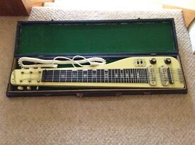 Columbus Lap Steel Guitar. Good condition, it's been around for many a year.
