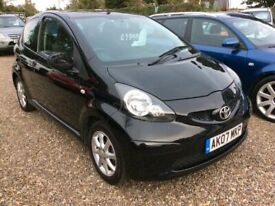 Toyota, AYGO, 998cc Full service history ONLY £20 per year road tax @ Aylsham Road Affordable Cars