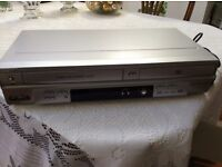 Symphonic DVD player & VHS player, combined.