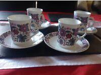 Elizabethan - Carnaby ( Bone china ) - coffee cups