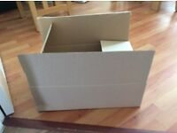 50 FREE cardboard boxes
