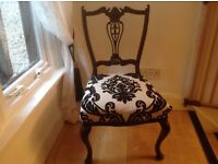 Elegant CHIPPENDALE small chair !!!!