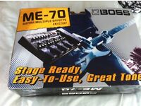 BOSS ME &) multi effects pedal (mint as new boxed)