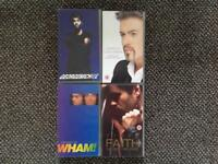 GEORGE MICHAEL PLUS WHAM VCR TAPES