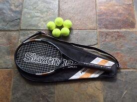 Slazenger pro braided tennis racquet